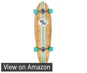 Ten Toes Board Zed Bamboo Longboard Review