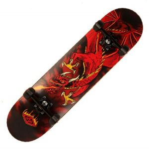 Powell Golden Dragon Flying Complete Skateboard
