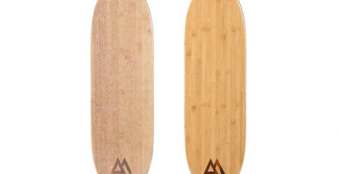 bamboo magneto longboard