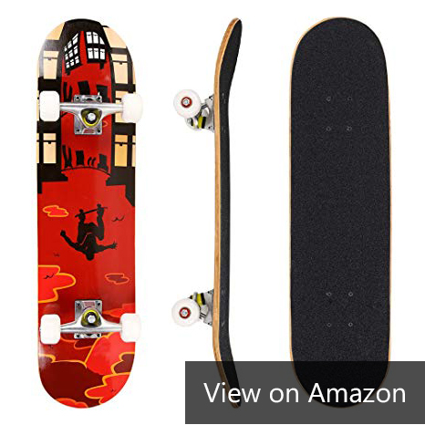 Dongchuan Pro Skateboard Complete Double Kick 9 Layer Canadian Maple Amazon