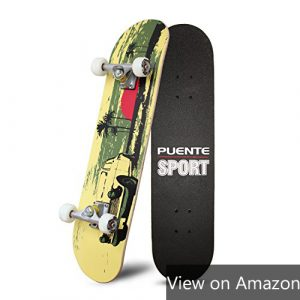 Puente Skateboard review amazon