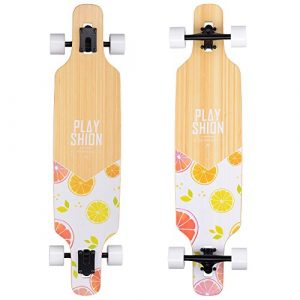 playshion-39-inch-drop-through-freestyle-longboard-skateboard-cruiser