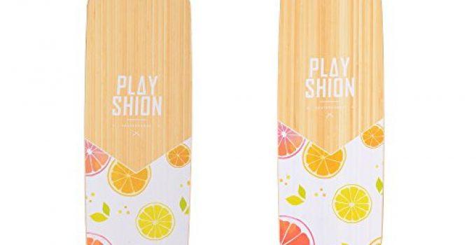 playshion-39-inch-drop-through-freestyle-longboard-skateboard-cruiser
