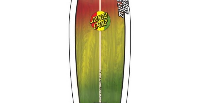 Santa Cruz Youth Land Shark Cruzer Rasta