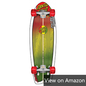 Santa Cruz Youth Land Shark Cruzer Rasta Review
